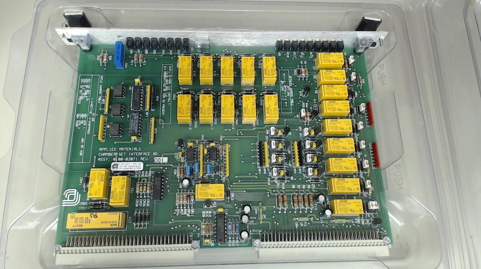 0100 02071 Applied Materials Spare Parts Xl T Printed Circuit Board Repair On Allen Bradley Magnetek Yaskawa The Pictures Provided Are For Reference Only Item That You Receive May Not Be Exactly As Pictured Below Click Any Picture A Larger View